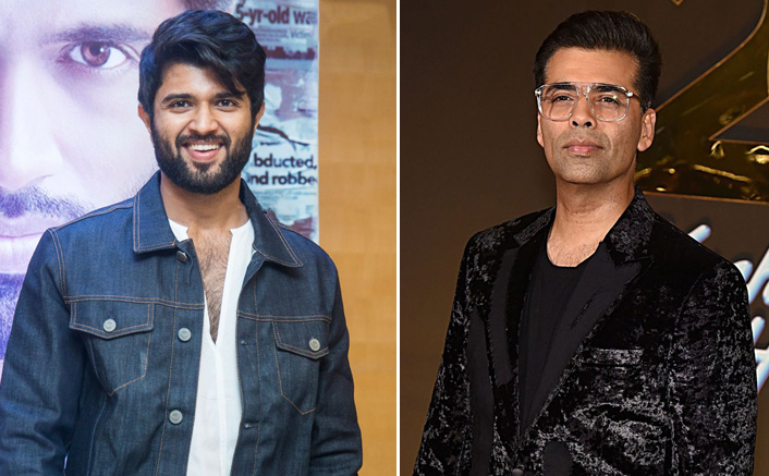 "Vijay Deverakonda Promises Karan Johar To Give A Memorable Film With Fighter: "" I Feel A Responsibility To Give You A Massively Memorable Film & I Will"""