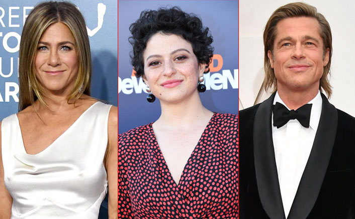 WHAT! Brad Pitt Is Quarantining With Both Jennifer Aniston & THIS Mystery Woman?