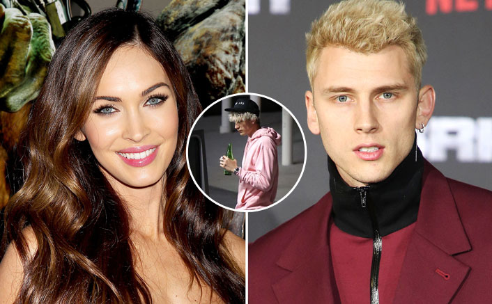 WHAT! Machine Gun Kelly SPOTTED Outside Megan Fox's House A Day After Her Split With Brian Austin Green
