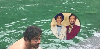 When Irrfan Khan took a dip in ice-cold water