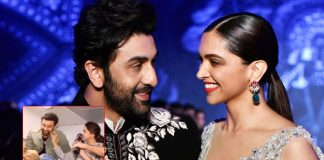 When Ranbir Kapoor Blushed As Deepika Padukone Pulled His Cheeks
