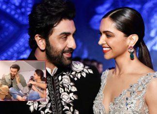 When Ranbir Kapoor Blushed As Deepika Padukone Pulled His Cheeks