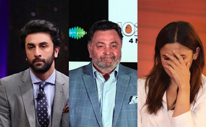 When Ranbir Kapoor's Speech On Father Rishi Kapoor Left Alia Bhatt Sobbing! WATCH