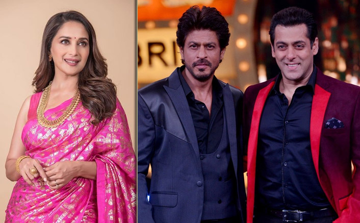 When Shah Rukh Khan & Salman Khan Came Together To Deliver A Surprise Success With Madhuri Dixit