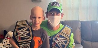 WWE Superstar John Cena Pays A SURPRISE Visit To His 7-Year Old Fan Battling From Cancer