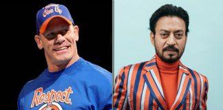WWE Superstar John Cena's Cryptic Tribute To Irrfan Khan!