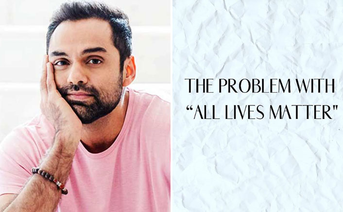 "Abhay Deol Against Caste System In India: ""Black Lives Matter Is All For Equality, Not Preference"""