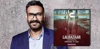 Ajay Devgn to present bilingual crime thriller series 'Lalbazaar'