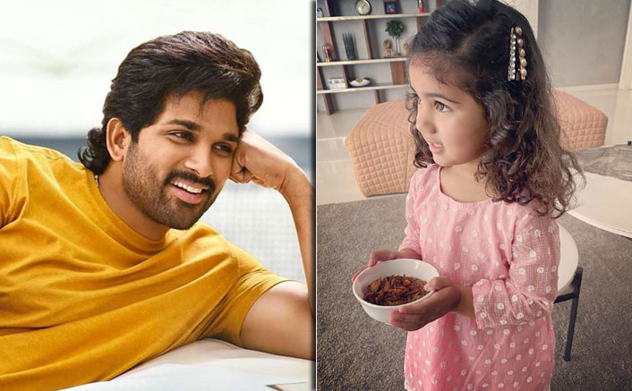 Allu Arjun Asks His Daughter Arha If She Would Like To Marry A Boy Of His Choice, The Little Munchkin's Adorable Reaction Will Melt Your Heart; WATCH