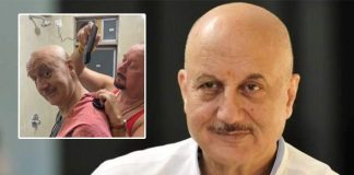 Anupam Kher Gets A Haircut From His Brother Raju Kher, Comedian Russel Peters Has A Hialrious Reaction