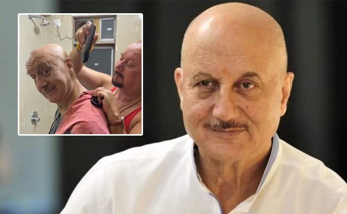 Anupam Kher Gets A Haircut From His Brother Raju Kher, Comedian Russel Peters Has A Hilarious Reaction