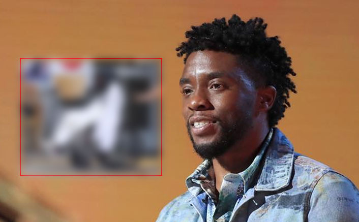 Avengers Fame Chadwick Boseman AKA Black Panther Spotted On A Wheel-Chair Covering His Face Outside Emergency Room; Fans Worried Of His Health