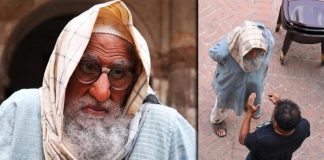 Big B on use of prosthetics and back pain during 'Gulabo Sitabo' shoot