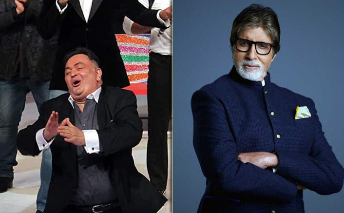 Amitabh Bachchan Shares A Lively Picture Of Late Rishi Kapoor & It's Making Us Emotional