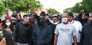 #BlackLivesMatter: Rapper Kanye West Joins Protesters At His Home Town Chicago Backing Justice For George Floyd