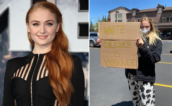 #BlackLivesMatter: Sophie Turner Gives A Befitting Reply On Being Criticised For Her Decision To Protest