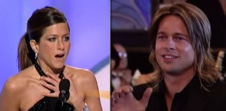 Brad Pitt Cheering For Jennifer Aniston With The Cast Of FRIENDS Is The BEST Thing You'll See On The Internet Today