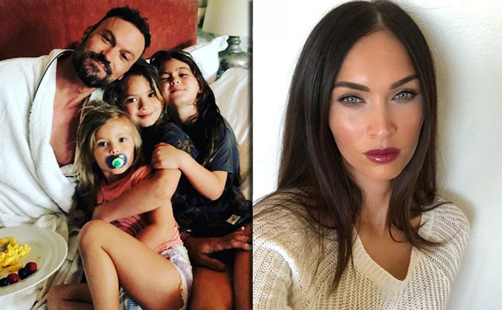 Brian Austin Green Shares An Adorable Photo Of Kids With Megan Fox Missing!