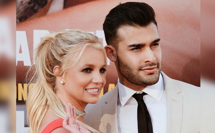 Britney Spears Cutely Yells At Beau Sam Asghari For Interrupting Her Pride Month Wishes To The LGBTQ+ Community, WATCH!(Pic Credit: samasghari/Instagram)