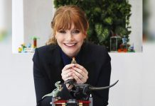 Bryce Dallas Howard happy to go back on 'Jurassic World' sets