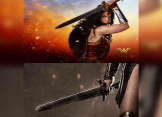 DC Trivia #21: Gal Gadot AKA Wonder Woman's Sword Has THIS Special Message Engraved On It