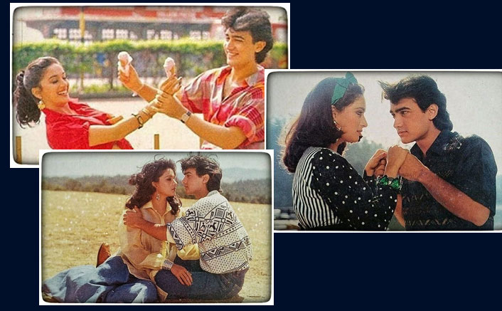 30 Years Of Dil: Madhuri Dixit Shares Some Rare Stills Featuring Aamir Khan