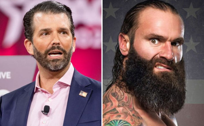 Donald Trump's Son RESPONDS To WWE Star Jaxson Ryker's Controversial Tweet!