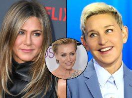 Ellen DeGeneres Is In LOVE With Jennifer Aniston, Trouble In Paradise With Wife Portia de Rossi?