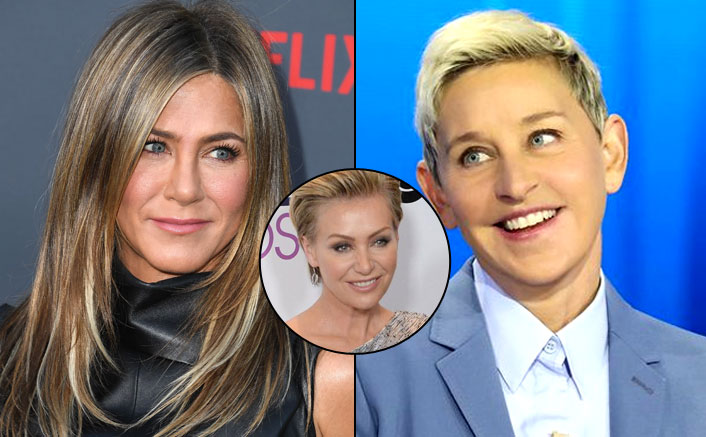 Ellen DeGeneres Is In LOVE With Jennifer Aniston, Trouble In Paradise With Wife Portia de Rossi?