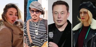Elon Musk REACTS To Threesome Reports With Amber Heard & Cara Delevingne In Johnny Depp Row