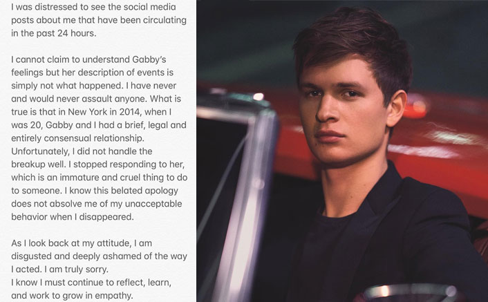 "Fault In Our Stars Fame Ansel Elgort FINALLY Speaks On Assaulting A Minor & Says, ""I Did Not Handle The Breakup Well…""(Pic Credit: ansel/Instagram)"