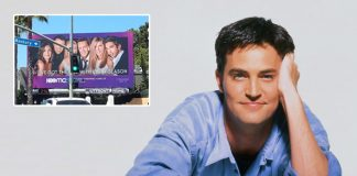 Friends: Matthew Perry AKA Chandler Bing Shares HBO Max's Promotional Hoarding For The Show & It Will Make You Emotional
