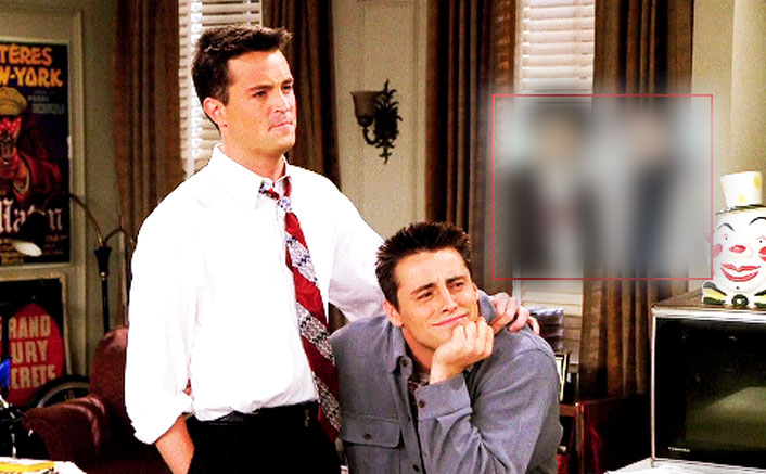 FRIENDS: This Old Picture Of Matthew Perry AKA Chandler Bing & Matt LeBlanc AKA Joey Tribbiani From The Sets Is Pure GOLD