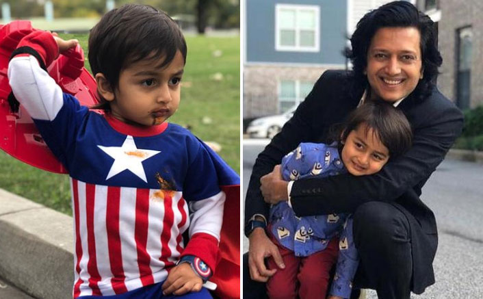 Riteish Deshmukh Has An Avengers Style Birthday Wish For His Son Rahyl, Calls Him Captain America & Spider-Man