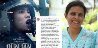 Gunjan Saxena praises Janhvi Kapoor on seeing 'The Kargil Girl' teaser