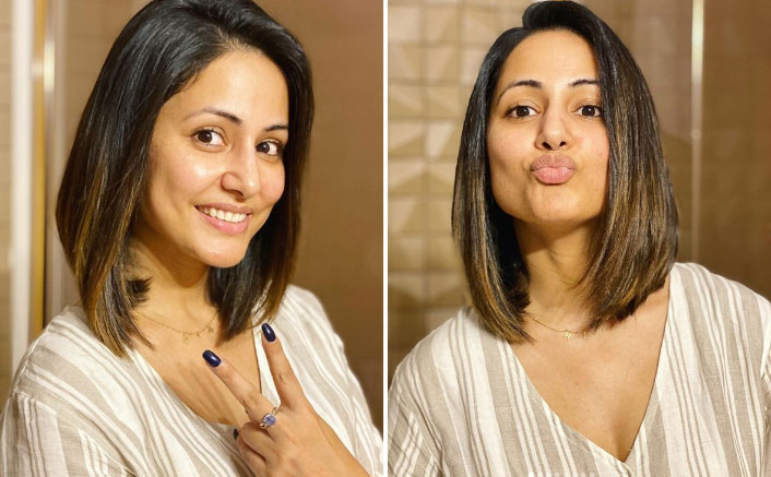 Hina Khan Gives Herself A Surprise, Bids Goodbye To All The Stress; Here's How!
