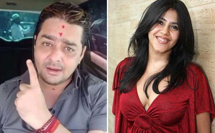 Hindustani Bhau Calls Ekta Kapoor 'Ek Thi Kabootar'; Says Getting Calls To 'Sit & Talk' Since Police Complaint