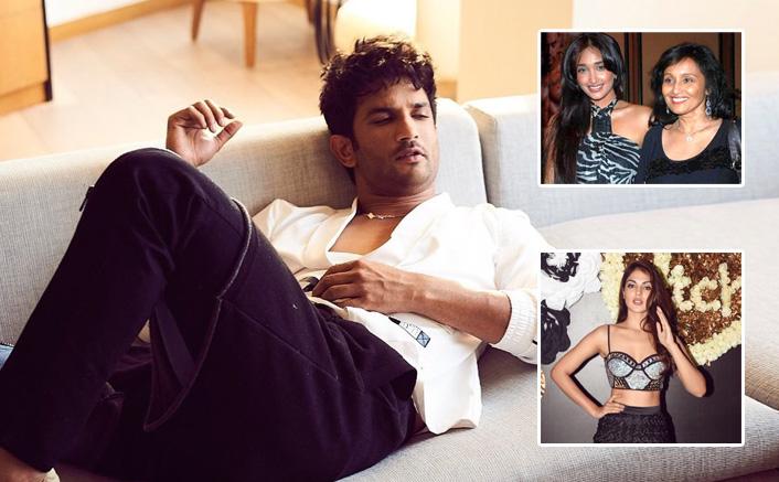 "Jiah Khan's Mother SLAMS Rhea Chakraborty For Sushant Singh Rajput's Suicide: ""She Looks Very Manipulative…""(Pic Credit: sushantsinghrajput/Instagram rhea_chakraborty/Instagram )"