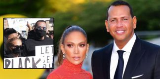 JLo, Alex Rodriguez join march for racial justice in LA
