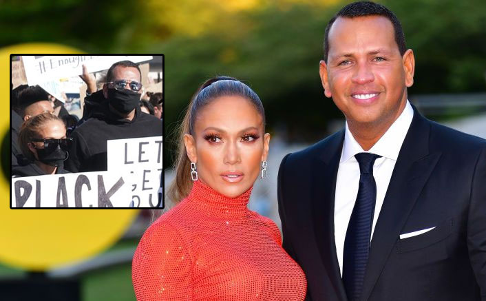 Jennifer Lopez & Fiancé Alex Rodriguez Join Protests For Racial Justice Following George Floyd's Death