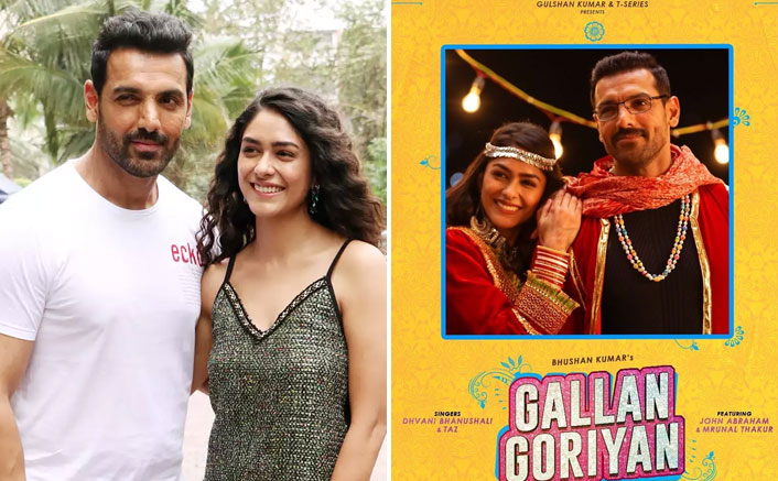 After Batla House, John Abraham & Mrunal Thakur To Collaborate Again For Dance Number Gallan Goriyan