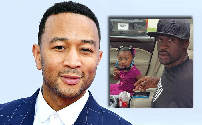 John Legend Breaks Everyone's Heart In This Father's Day Tribute To George Floyd & His Daughter Gianna With 'Never Break'