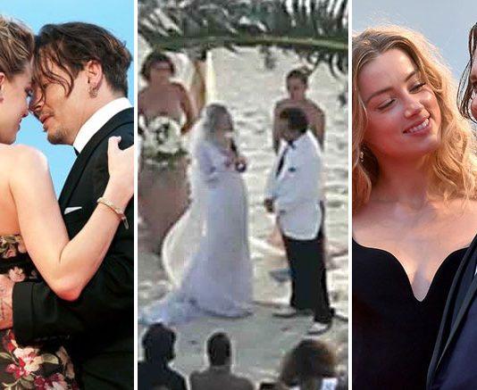 Johnny Depp & Amber Heard's UNSEEN Romantic & Wedding Footage Make For A Fairytale Journey, WATCH