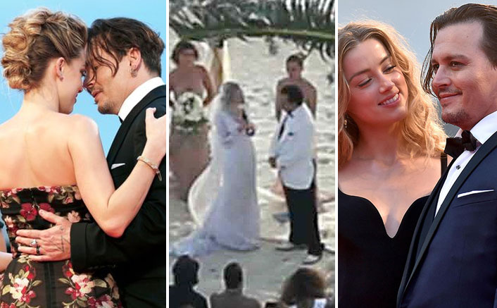 Johnny Depp & Amber Heard's UNSEEN Romantic & Wedding Footage Make For A Fairytale Journey, WATCH