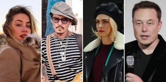 Johnny Depp Case: Amber Heard Accused Of Threesome Affair With Elon Musk & Cara Delevingne