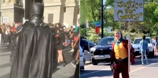 Justice For George Floyd: Batman & Joker Join The Protests To Fight Racism, WATCH