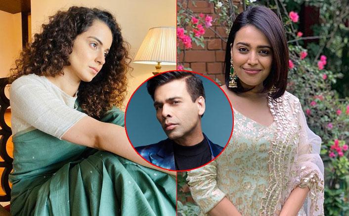 Kangana Ranaut SLAMS Swara Bhasker, Claims She's Doing Karan ...
