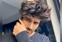 Kartik Aaryan's beard capers continue on social media