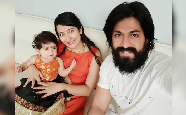 KGF Star Yash & Family Shows How To Safeguard One Self From COVID-19, Check Out(Pic Credit: iamradhikapandit/Instagram )
