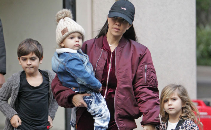 "Kourtney Kardashian Talks To Her Kids About White Privilege: ""I Bare The Responsibility..."""